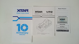 DSC 0051 2 - 【バッテリー/充電器】「2014 XTAR VP2 インテリジェント 高速充電器 フルセット」レビュー。初めてのレビュー投稿です