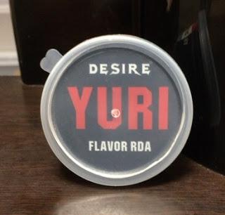 FullSizeRender 4 - 【RDA】「DESIRE YURI FLAVOR RDA」(デザイアユリフレーバーRDA)レビュー。名前につけたFLAVORの文字!味がいいと評判のRDAはいかに!!