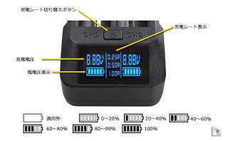 xtar vp1 2 2 - 【バッテリー/充電器】「2014 XTAR VP2 インテリジェント 高速充電器 フルセット」レビュー。初めてのレビュー投稿です