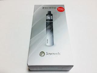 IMG 0034 2 - 【スターターキット】手軽に始められるVAPE!「Joyetech EXCEED D19(ジョイテック・エクシードD19)」レビュー!【VAPE/電子タバコ/AIOタイプ】