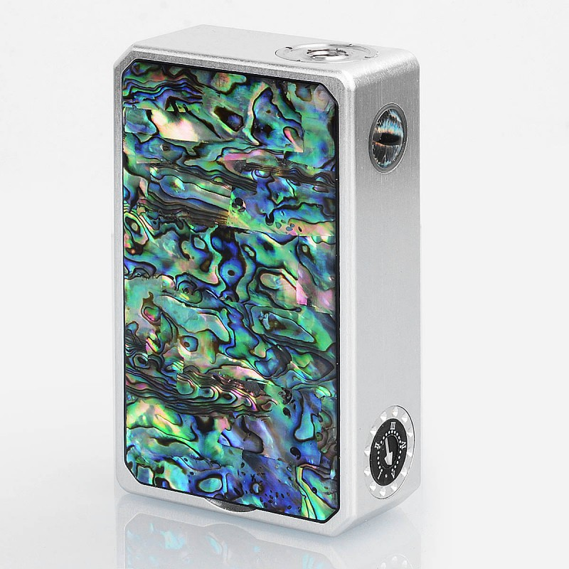 authentic moyuan joker 240w vv variable voltage box mod silver zinc alloy 182v 2 x 18650 1 - 【海外】「REV Sport 101W TC Box Mod 4200mAh」「Vandy Vape Pulse BF Squonk Mod」「Blitz B17 MECH MOD」
