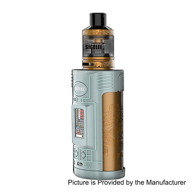 Sigelei GW 257W Grey VW Variable Wattage Mod + F Tankキット