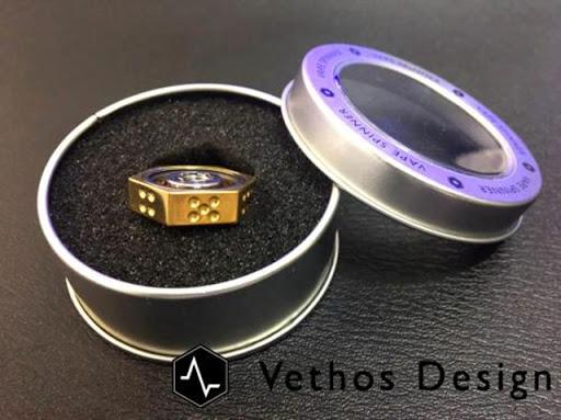 07041625 595b42fe7dd8c thumb255B2255D - 【小物/スピナー】「Vethos Design VAPE SPINNER アトマイザースピナー」レビュー。510コンタクトに取り付け可能なスピナー。サイコロ機能も!おまけBluetoothスピナー【VAPE/禁煙/電子タバコ/フィジェット】