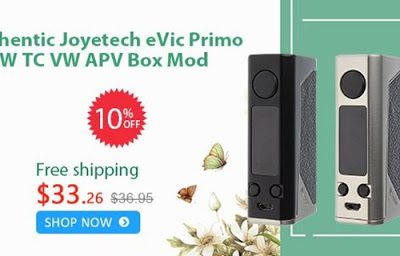 20170504 ff9363da7798402eac7c4ec99d2e4fe9 thumb255B2255D 400x256 - 【セール】「Joyetech eVic Primo」「SMOK ALIEN 220キット」「Sigelei Kaos Spectrum 230W MOD」「HCigar Maze V3 RDA」などFastTechの2017年5月6日-7日週末セール情報