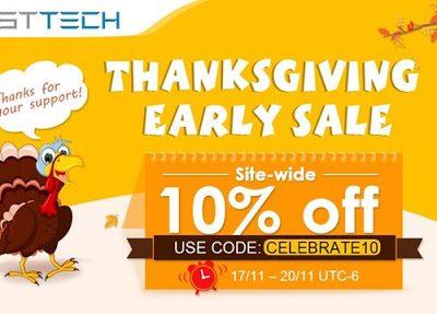 20171116 58a9b6c549d0404a832c097ac2f9cd3e thumb255B3255D 400x287 - 【セール】FastTech,全商品10%オフの「Thanks Giving Earlyセール」を開催。2017年11月17日~20日まで