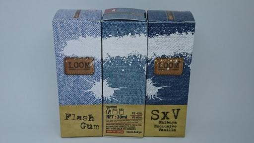 DSC 3579 thumb255B3255D - 【リキッド】デニム感!?「LOOM TOKYO(ルームトウキョウ)」SIMPLY UMAI E-JUICE「Flash Gum」「Flash Gum Mild」「SxV -Shibuya Exclusive Vanilla」レビュー。パッケージおされ系!【ISO9001認証/ベプログ/国産】