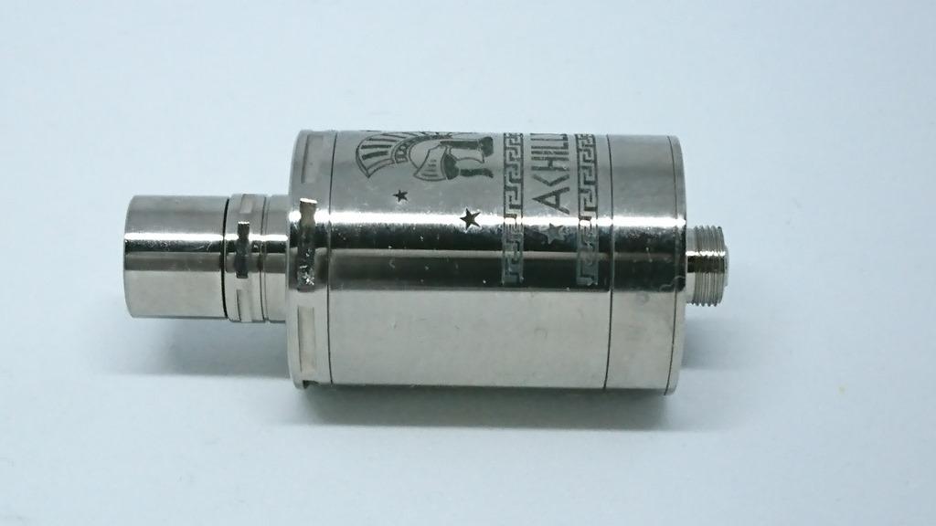 DSC 64498 - 【RDA】「ACHILLES II RDA by Titanium MODS」(アキレス2RDA)エングレービング付モデルレビュー!フルチタンボディで軽量、英雄アキレスの掘りが所有欲を満たしてくれるフレーバーチェイサー御用達モデル!【ドリッパー/フレーバー/電子タバコ】