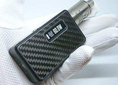 DSC 6641 thumb255B4255D 400x288 - 【MOD】「Lost Vape Epetite DNA60 MOD」(ロストベイプ・エペティート)レビュー。新色ブラックカーボンフレームの美しさと高機能の両立!防水ボタン&最大9V昇圧!!【電子タバコ/VAPE/ハイエンド】
