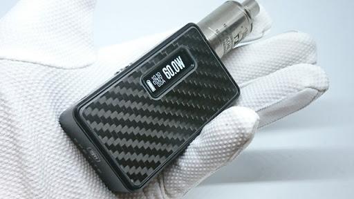 DSC 6641 thumb255B4255D - 【MOD】「Lost Vape Epetite DNA60 MOD」(ロストベイプ・エペティート)レビュー。新色ブラックカーボンフレームの美しさと高機能の両立!防水ボタン&最大9V昇圧!!【電子タバコ/VAPE/ハイエンド】