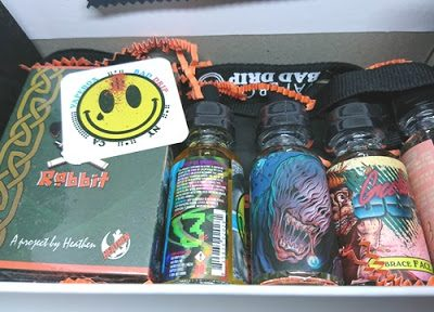 DSC 7320 thumb255B4255D 400x288 - 【リキッド】VAPEBOXリキッド&ハード定期便10月#2「CEREAL TRIP」「THE LOST ONE」「BRACE FACE」「TWISTY」レビュー。「Dead Rabbit RDA」がおまけ。
