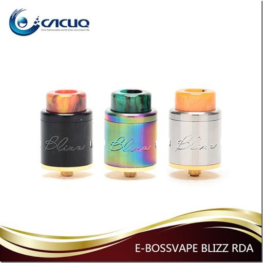 In Stock E bossvape Blizz RDA tank thumb255B1255D - 【RDA】「E-bossvape Blizz RDA」(イーボスベイプ・ブリッツRDA)レビュー。簡単ビルド・爆煙・高級感のドリッパー!!【RDA/RBA/VAPE/電子タバコ/爆煙】