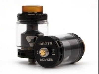 advkenmantarta2 480x580 thumb255B1255D 400x300 - 【RTA】「Advken MANTA RTA(マンタ RTA)」レビュー。タンク形状が特徴的!しかし予備タンクは。。。【VAPE/RTA/アトマイザー】
