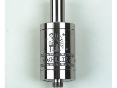 atomizer achilles full titanium thumb255B2255D 2 400x300 - 【RDA】「ACHILLES II RDA by Titanium MODS」(アキレス2RDA)エングレービング付モデルレビュー!フルチタンボディで軽量、英雄アキレスの掘りが所有欲を満たしてくれるフレーバーチェイサー御用達モデル!【ドリッパー/フレーバー/電子タバコ】