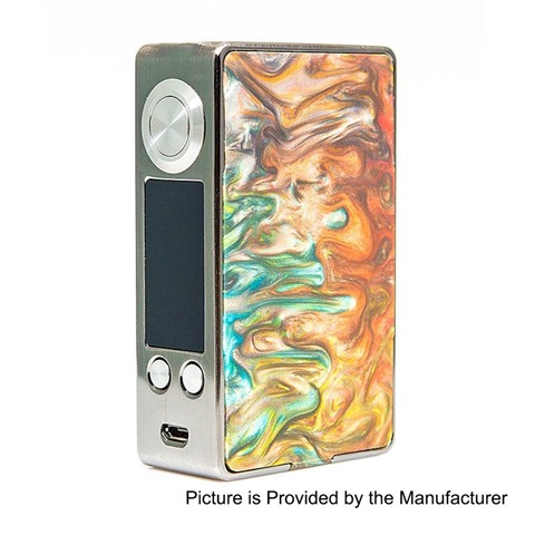 authentic aleader funky 160w tc vw variable wattage box mod silver random color ss resin 1160w 2 x 18650 thumb255B2255D - 【海外】「ECT B40 2200mAh」「ECT Tough 2200mAh」「Nicomore M1 タンク 2ml」「Aleader Little Bee RDTA」「Vaporesso Swag 80W VW/TC MOD+NRG SEタンクキット」