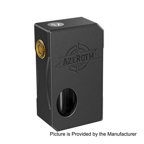 authentic coilart azeroth squonk mechanical box mod black aluminum 7ml 1 x 18650 20700 21700 thumb255B2255D - 【海外】「CoilART Azeroth BF/Squonker MOD」「Innokin Endura T20-S Complete 1500mAh」「Innokin Prism T20-Sタンク」【東プレReal Force、16年ぶりに更新】