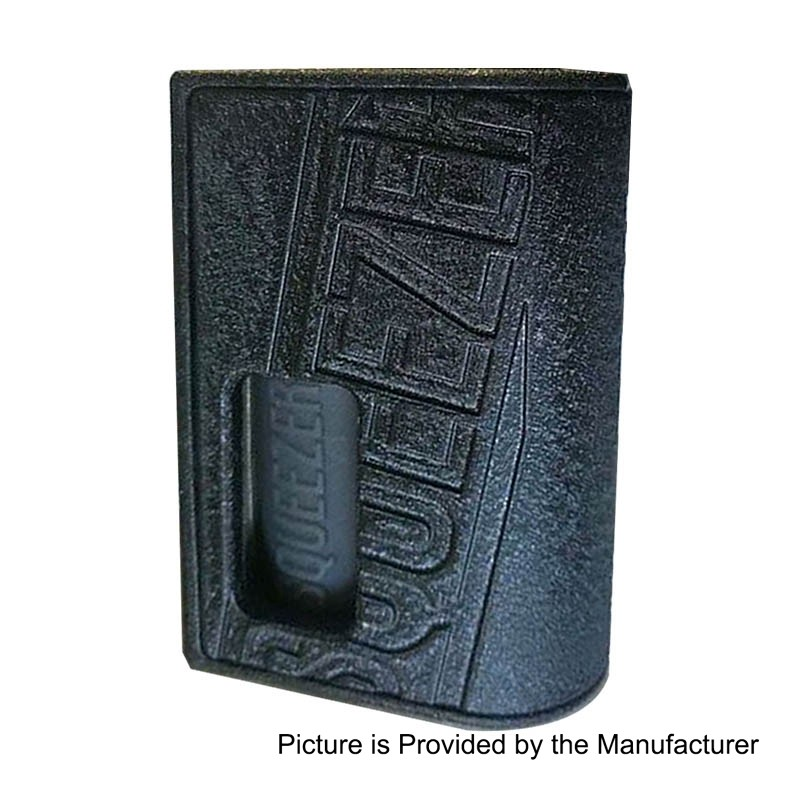 Authentic Hugo Squeezer Black 8ml 18650 BF Squonk Mechanical Box Mod