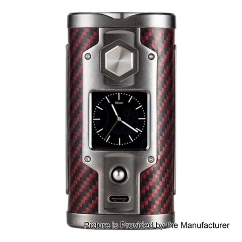 authentic sxmini g class 200w limited edition tc vw variable wattage box mod kevlar red 5200w 2 x 18650 thumb255B2255D - 【海外】「SXmini G Class 200W Limited Edition」「ADVKEN Mad Hatter 24 Silver RDA + Mechanical Modキット」オフィスエッジ25%オフセール明日まで