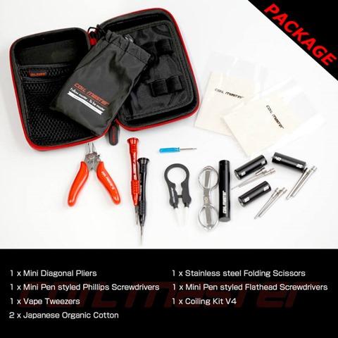cm diytool mini 2 thumb255B2255D - 【DIY/ビルド】「CoilMaster DIY ミニキット」(コイルマスターDIYミニキット)レビュー。簡易VAPEビルド用品とバッグのセットは持ち運びで出先に便利!【小物/工具/VAPE/電子タバコ/VAPE STEEZ/eREC】