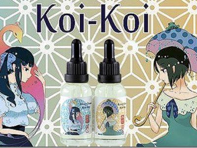koi koi thumb255B1255D 400x300 - 【リキッド】「MK Lab Koi-Koi Rainy Draw(エムケーラボ 来々 コイコイ 雨流れ)」レビュー。この濃さ、美味しさ、そして可愛さのとりこになる!【MKLab/コイコイ/KOI-KOI/恋々】