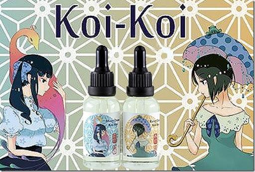 koi koi thumb255B1255D - 【リキッド】「MK Lab Koi-Koi Rainy Draw(エムケーラボ 来々 コイコイ 雨流れ)」レビュー。この濃さ、美味しさ、そして可愛さのとりこになる!【MKLab/コイコイ/KOI-KOI/恋々】