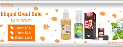 liquid sale thumb255B2255D 400x155 - 【海外/セール】Health CabinでEliquid Great Sale開催中、最大70%オフ。その他海外新着