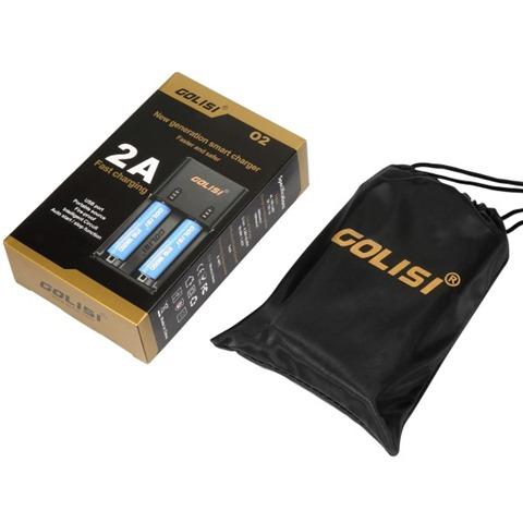 optimized 02 2 thumb255B2255D - 【充電器】「GOLISI O2 インテリジェントチャージャー」充電器と「GOLISIバッテリー3000mAh」レビュー!2A急速充電可能なVAPEの頼もしい味方!!【バッテリー/チャージャー/電子タバコ/ツール】