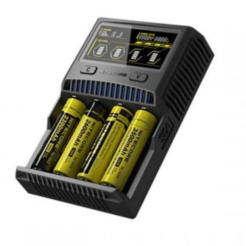 sc4 2 thumb255B2255D - 【バッテリー/充電器】「NITECORE Superb Charger SC4」(ナイトコア・スーパービーチャージャー・エスシーフォー)レビュー。3A*2で最大6A給電可能な最強充電器!【VAPE/電子タバコ/アクセサリ】