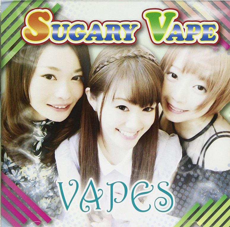 "81lTsmlcUoL. SL1500 4 - 【NEWS】VAPEアイドル""VAPES""のデビュー曲「SUGARY VAPE」(シュガリーベイプ)が地上波の「全力!脱力タイムズ」12月~1月のエンディングテーマに!"