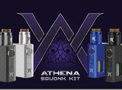 Athena Squonk Kit four colors available thumb 400x298 - 【レビュー】最近流行りのマスプロ系メカスコ♪GEEK VAPE ATHENA SQUONK MOD(ギークベイプアテナスコンクモッド)【メカニカルMOD】~これはほんとに人をダメにするやつだ(ΦдΦ)編~