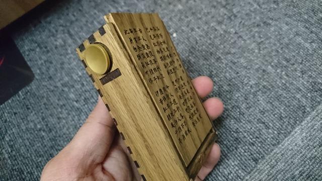 DSC 7905 thumb 1 - 【レビュー】Layzer Crew(レイザークルー)の新リビジョン「Daoshi(道士)」リキッドレビュー!さらに濃厚なカフェオレタバコフレーバー。おまけオリジナルウッド製メカMOD【電子タバコ/リキッド/One Case】
