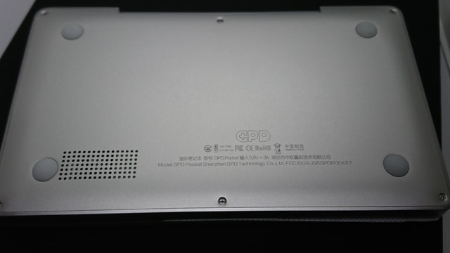 DSC 7992 thumb 1 - 【レビュー】GPD Pocket(ジーピーディーポケット)超モバイルPCは思った通り軽かった!コンパクトサイズに必要最大限が詰まった夢のウルトラモバイルパソコン【ガジェット/タブレット/ノートPC】