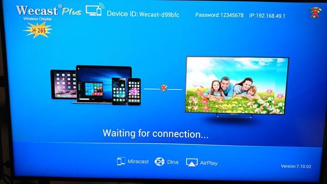 DSC 8060 thumb - 【レビュー】WIRELESS HDMI TV DONGLEレビュー。スマートフォンやPCの画面をテレビ、プロジェクターに映す!Wi-Di/AirPlay/Miracast/DLNA対応のスグレモノ!