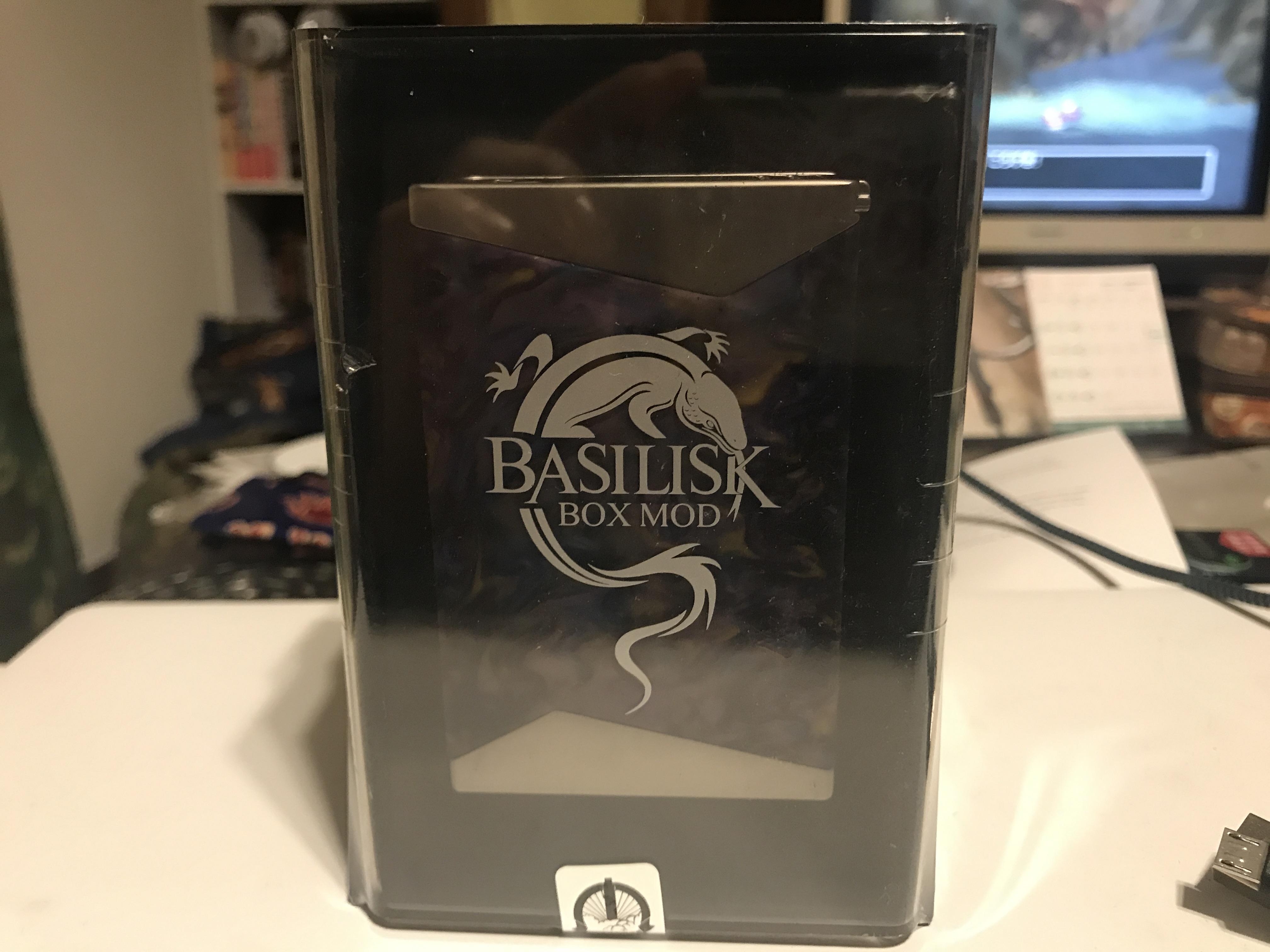IMG 6235 - 【レジンMOD】Stentorian Basilisk 200W Box Modレビュー!イカしたMODがイカしたケースに入ってやってきた!コレは所有欲が満たされる一本だ!【トカゲ?】