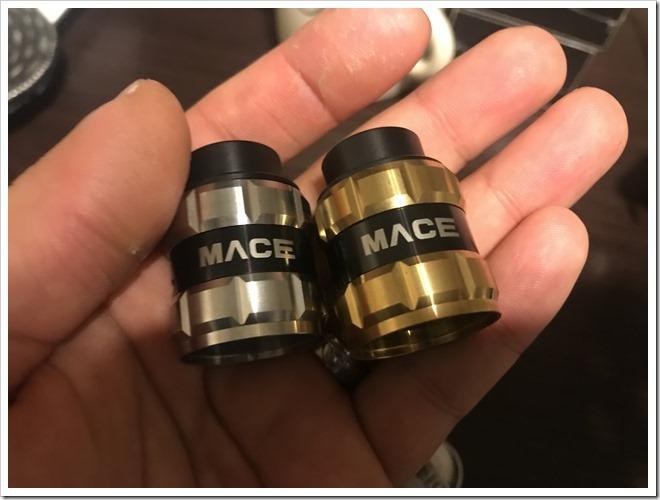 IMG 6694 thumb - 【レビュー】Ample Vape MACE BF RDAレビュー!最初はとにかく硬いけど、吸ったら爆煙製造機!BFピンデフォルト搭載のスコンカー推奨RDA!【とにかく硬い/力強い/RDA/ボトムフィーダー】