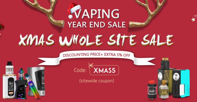 XmasSourcemore thumb - 【セール】きよしこの夜。VAPE&ガジェットクリスマスセール情報2017まとめ!!サンタさん靴下の中にいれとくれ!【VAPE/電子タバコ/リキッド/ガジェット】