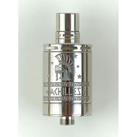 atomizer achilles full titanium thumb5B65D - 【RDA】「ACHILLES II RDA by TITANIUM MODS」(アキレス2RDA)レビュー。シルキーな濃厚フレーバー!シングルコイルビルドの最強クラスフルチタン製ドリッパーfromウクライナ!【オーセン/電子タバコ/VAPE】