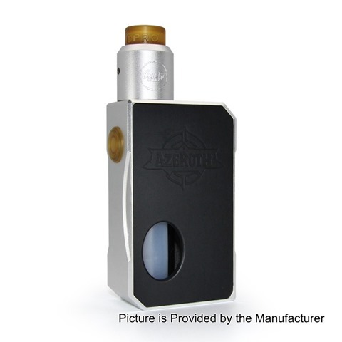 authentic-coilart-azeroth-squonk-mechanical-box-mod-dpro-rda-kit-silver-7ml-1-x-18650-20700-21700-24mm-diameter