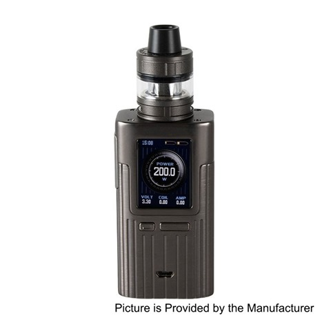 authentic joyetech espion 200w tc vw variable wattage box mod procore x tank kit grey 1200w 2 x 18650 2ml thumb - 【海外】「Joyetech ESPION 200W+Pro Core X タンクキット」「Innokin LiftBox Bastion Siphon Squonk Mechanical Box Mod」「GEEKVAPE Blitzen RTA」「AIMIDI Curve V8 240W」