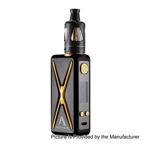 authentic rofvape witcher xer 90w tc vw variable wattage box mod tank kit black 790w 1 x 18650 2ml 22mm diameter thumb - 【海外】「Teslacigs Colt Mini 80W 2000mAh」「Teslacigs WYE 85W」「Teslacigs Warrior 85W」「Smoktech SMOK T-Priv 3 300W」