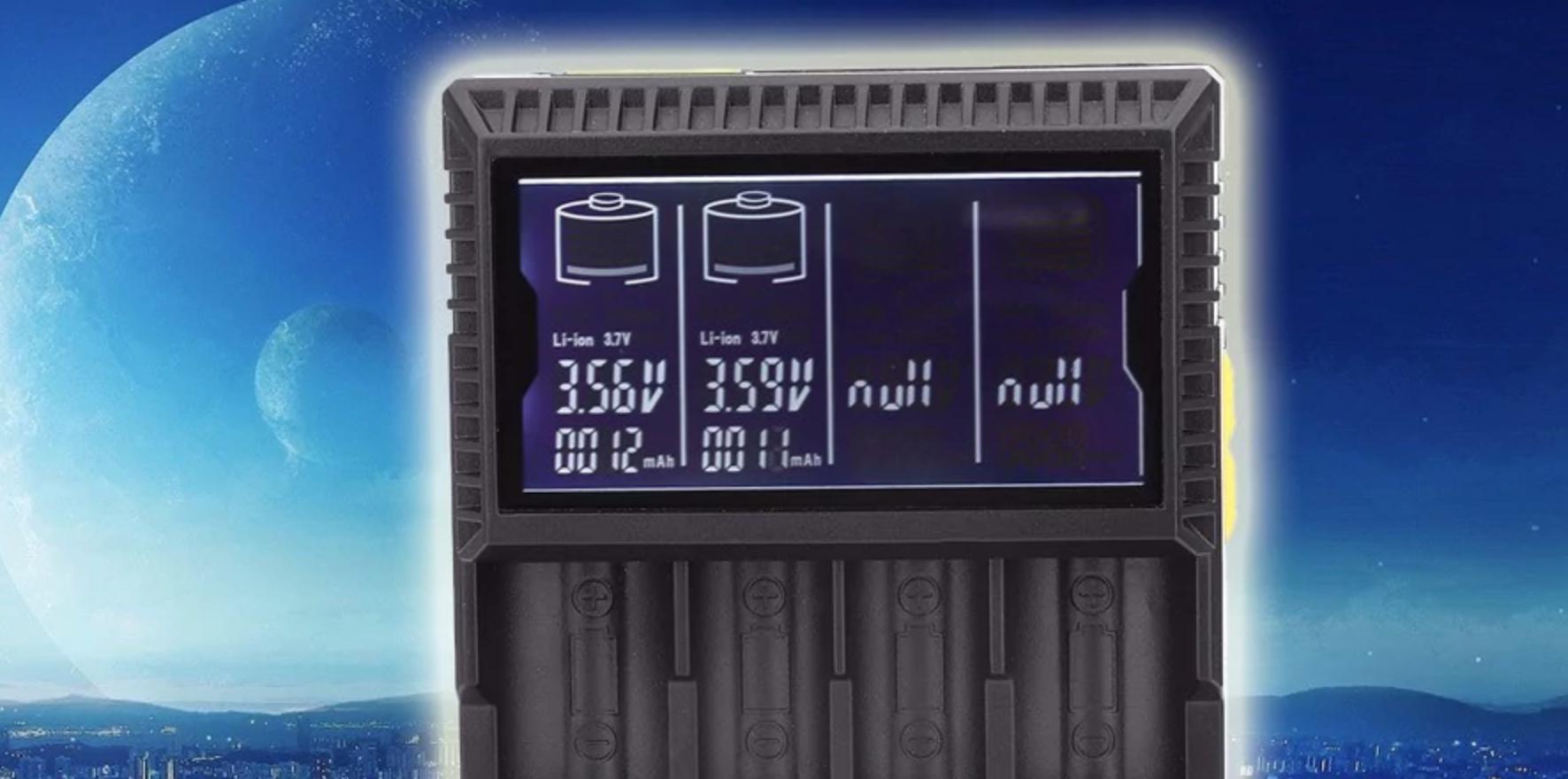 c6a573eb1f2abd567367949993c9f124 - 【レビュー】18650、4本高速充電!「GOLISI L4 Intelligent Digi Charger」は低価格で液晶がカッコイイ!【バッテリーチャージャー】
