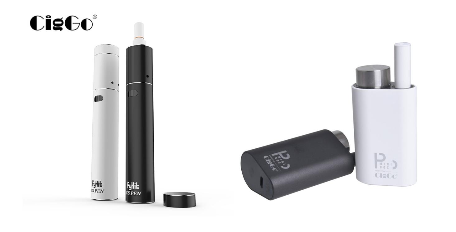 d85a80b73da2f2a2dfac68a40a828e7f - 【レビュー】CiggoからiQOS互換の「FyHit CS Pen」とglo風プルームテック互換「p MINI BOX」登場。どっちがイケてる?【加熱式タバコ】