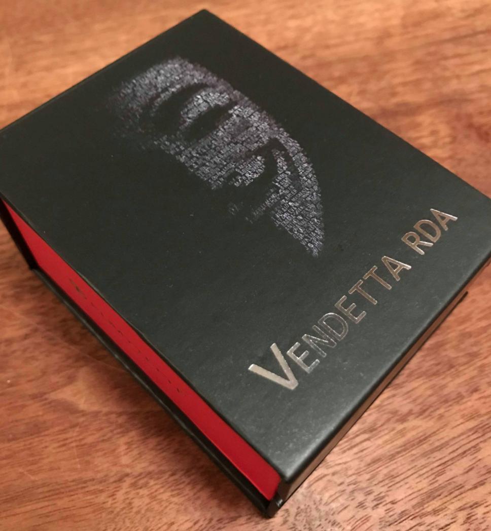 ef73d1bb21ea698f30b0643ff35dc680 - 【レビュー】「Fumytech Vendetta RDA」アノニマスで有名なガイ・フォークスドリッパー!色物系だけど見た目も超クール。