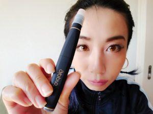 emii9 300x225 - 【レビュー】VAPE女子エィミイ、簡単・パワフル・スレンダー「gippro」で擬似喫煙体験!してみちゃいました。【電子タバコ/VAPE】