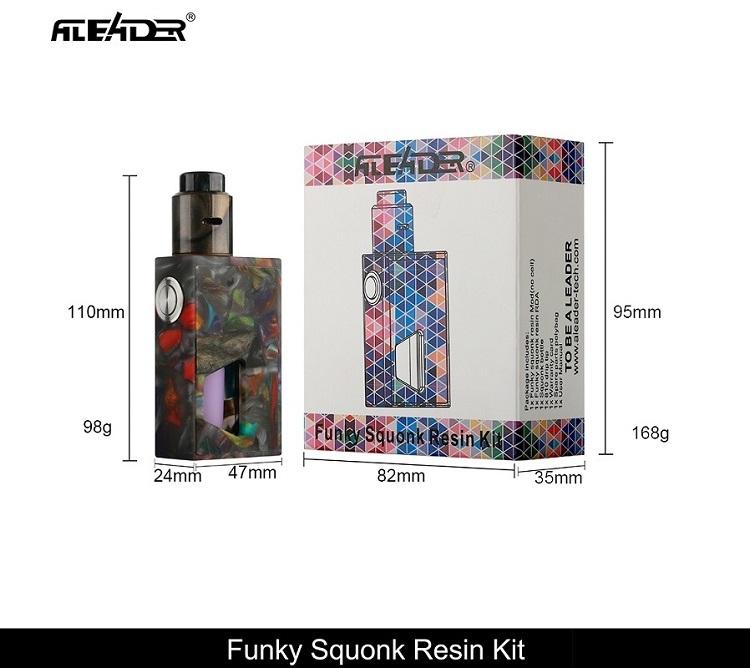 2017122567123413 - 【レビュー】ALEADERのスコンカー「funky squonk resin kit」が予想以上に旨くておったまげー