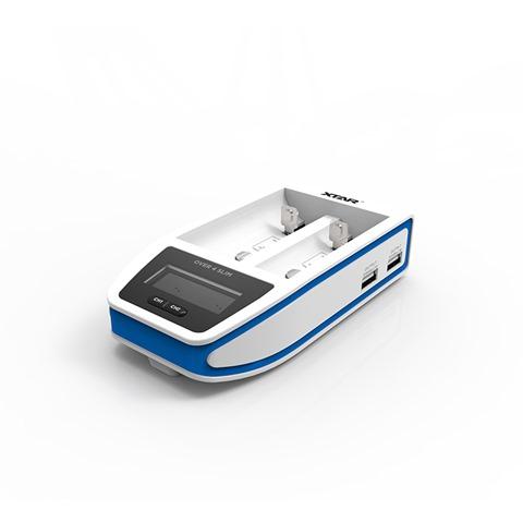 891f5693 fe40 4dcd b021 2470d67f1fea thumb - 【レビュー】XTAR OVER 4 SLIM(エクスターオーバーフォースリム)バッテリーチャージャーのレビュー。最大4.1Aで30分の超急速充電、スリムなコンパクト充電器!!【18650/21700/18700/20700/22650/26650対応】