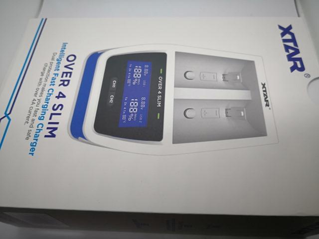 IMG 20180123 102047 thumb - 【レビュー】XTAR OVER 4 SLIM(エクスターオーバーフォースリム)バッテリーチャージャーのレビュー。最大4.1Aで30分の超急速充電、スリムなコンパクト充電器!!【18650/21700/18700/20700/22650/26650対応】