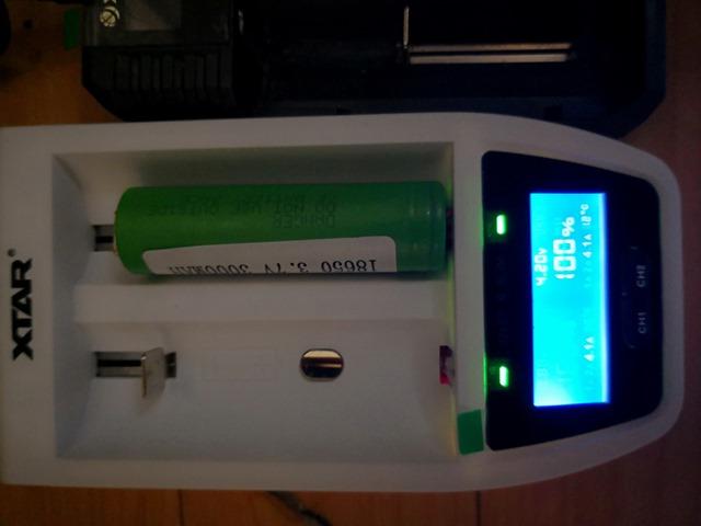 IMG 20180123 103159 thumb - 【レビュー】XTAR OVER 4 SLIM(エクスターオーバーフォースリム)バッテリーチャージャーのレビュー。最大4.1Aで30分の超急速充電、スリムなコンパクト充電器!!【18650/21700/18700/20700/22650/26650対応】