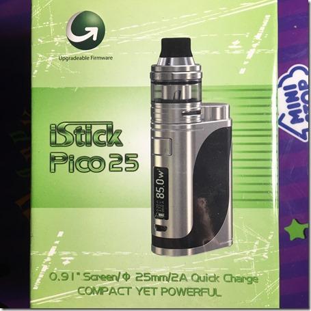 IMG 26971 thumb - 【レビュー】「Eleaf iStick Pico25(アイスティックピコ)スターターセット」レビュー。あの有名スターターが25mmに対応して登場!
