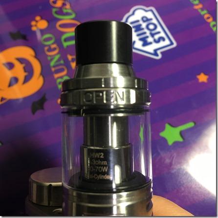IMG 27111 thumb - 【レビュー】「Eleaf iStick Pico25(アイスティックピコ)スターターセット」レビュー。あの有名スターターが25mmに対応して登場!