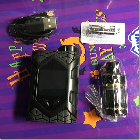 IMG 27311 thumb - 【レビュー】「VAPTIO WALLCRAWLER KIT(ヴァプティオウォールクラウラーキット)」レビュー。カラー液晶で観やすく、操作も簡単スターター!【電子タバコ/スターター】